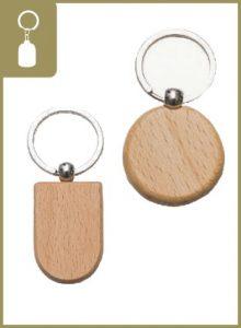 My Gift - Keychain - Wooden Keychain